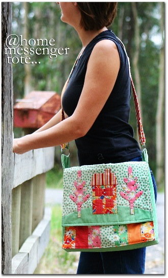 @home messenger tote cover shot